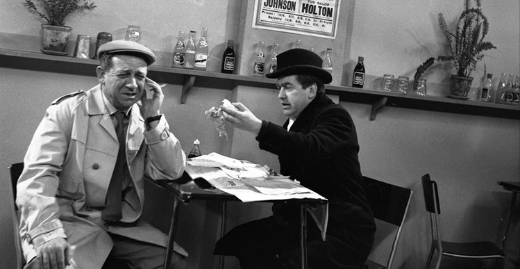 Classic TV Revisited Hancock's Half Hour Sid and Tony