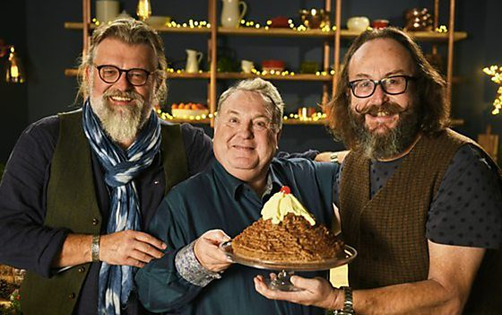 Hairy Bikers Christmas Russell Grant