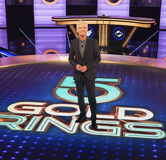 Image result for 5 gold rings phillip schofield