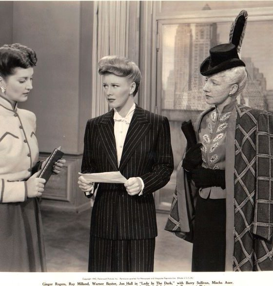 Image result for lady in the dark ginger rogers