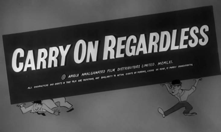 Carry On Regardless (1961, Sid James, Kenneth Williams)