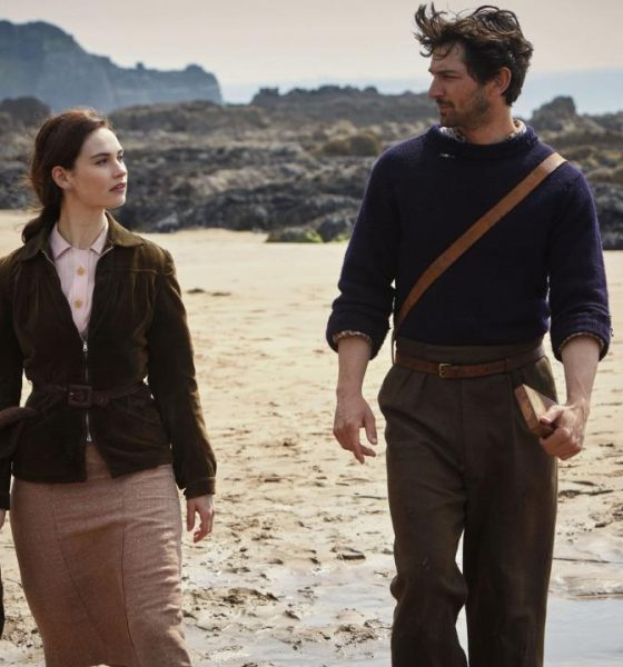 The Guernsey Literary & Potato Peel Pie Society (2018, Lily James, Jessica Brown Findlay)
