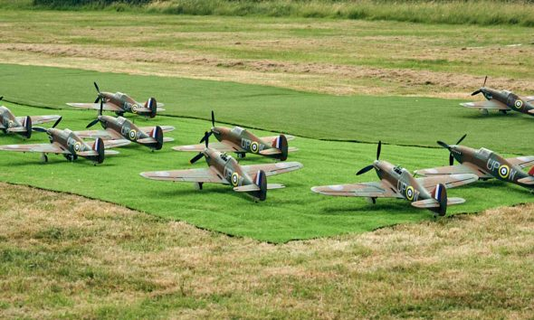 Battle of Britain Model Squadron Series Final 23 Sep on Channel 4