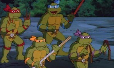 Teenage Mutant Ninja Turtles CBS 1987, Rob Paulsen, Jennifer Darling)
