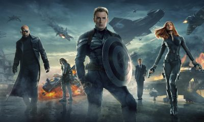 Captain America: The Winter Soldier (Marvel 2014, Chris Evans, Scarlett Johansson)