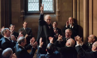 Darkest Hour (2017, Gary Oldman, Lily James)