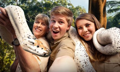 Crikey! It's the Irwins (Animal Planet 2018, Terri, Robert and Bindi Irwin)