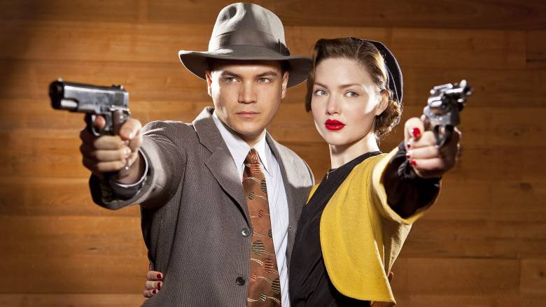 Bonnie and Clyde (A+E 2013, Emile Hirsch, Holliday Grainger)