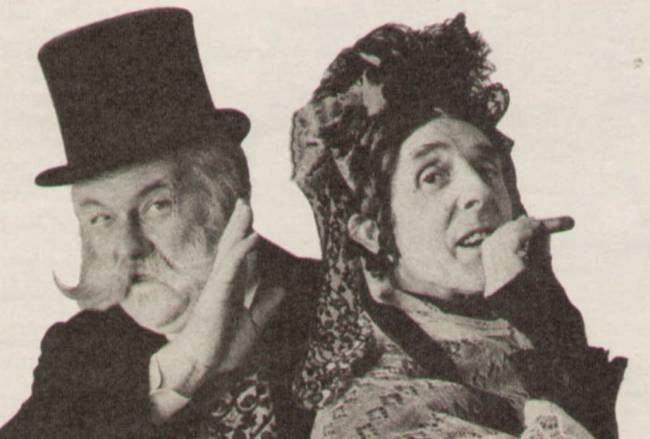 Charley's Aunt ITV 1977 Jimmy Edwards and Eric Sykes