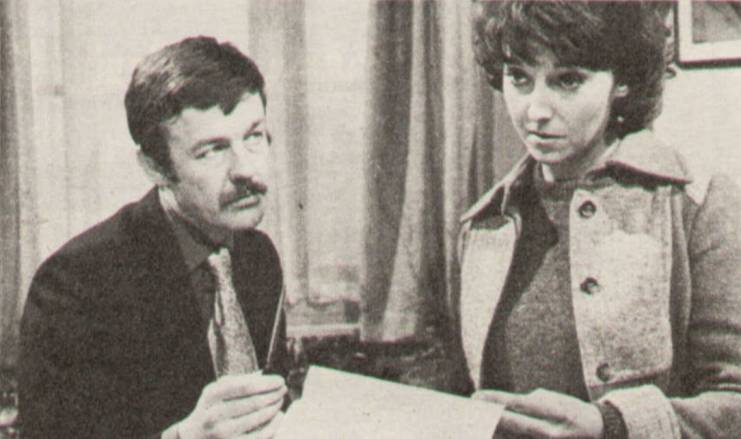 The Challengers: What About England? ITV 1972 William Gaunt, Joanna Van Gyseghem