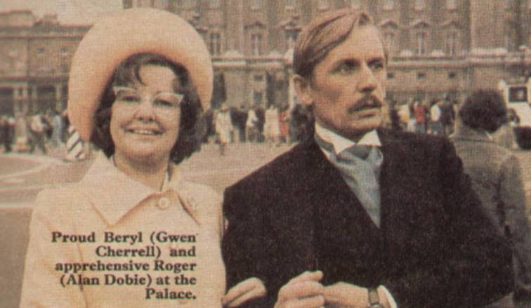 Red Letter Day For Services To Myself ITV 1976 Gwen Cherrell Alan Dobie