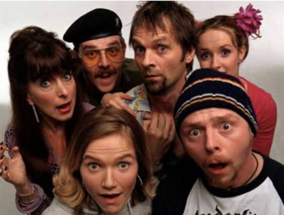Spaced Channel 4 1999-2001
