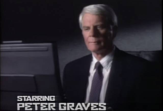 Mission Impossible 1988 Peter Graves