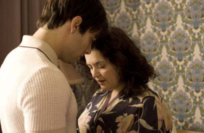 Hattie BBC Drama, Ruth Jones, Aidan Turner