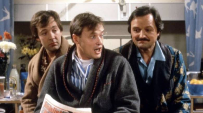 Only When I Laugh ITV Sitcom, James Bolam, Peter Bowles