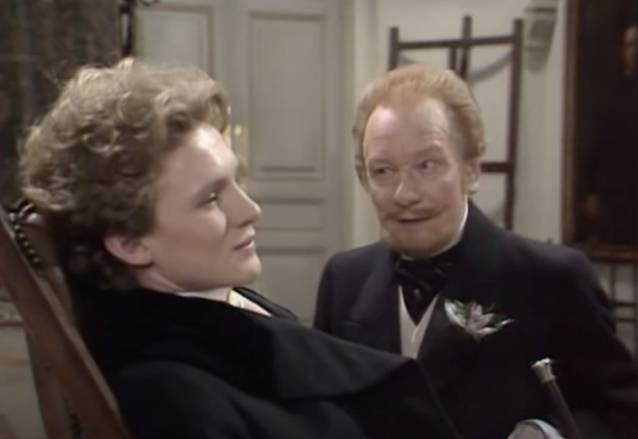 The Picture Of Dorian Gray BBC Drama, Peter Firth, John Gielgud