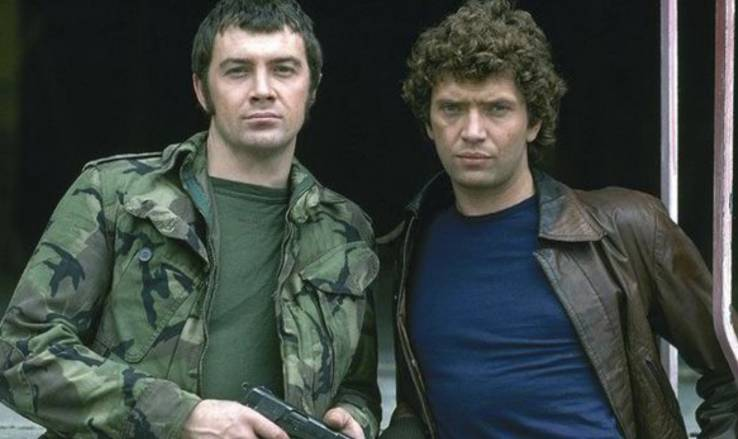 The Professionals ITV Action, Lewis Collins, Martin Shaw