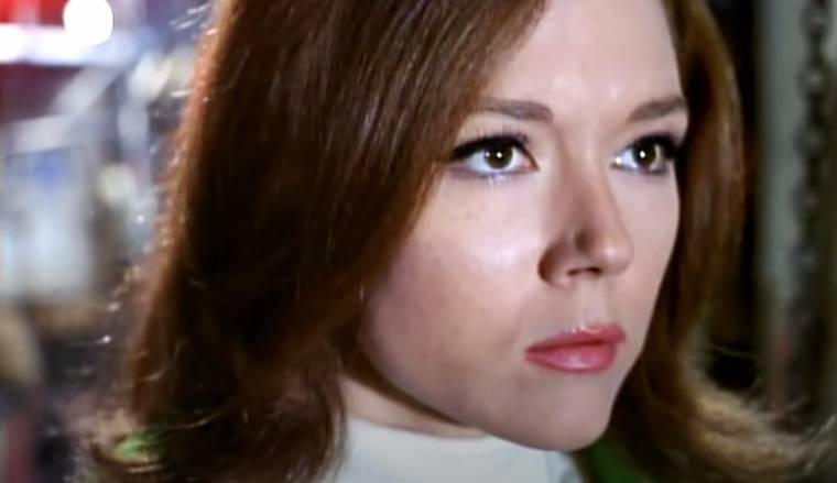 Classic TV Characters Emma Peel in The Avengers Diana Rigg