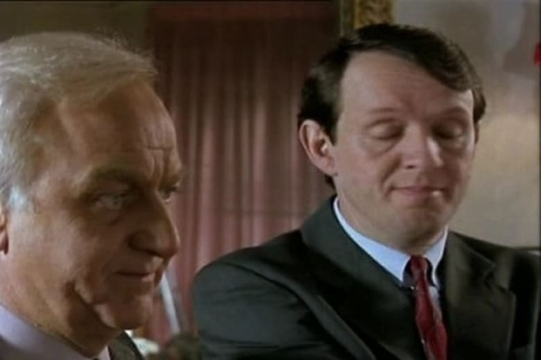 Picture of Inspector Morse Dead on Time.